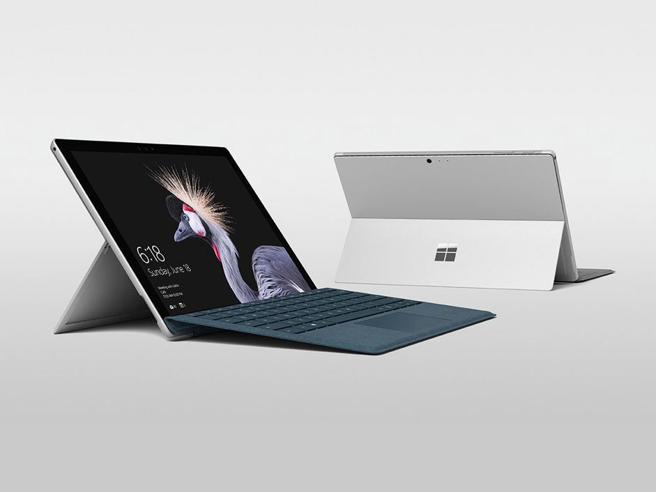 Microsoft Surface Pro (6th Gen Processor) Advanced i5, 8gb Ram, 256gb HD, Backlit Keyboard Cover! Windows 10 Pro MS OFFICE PRO