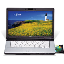 "Load image into Gallery viewer, Fujitsu Lifebook 15.6"" LED intel i5 3.30Ghz 8GB RAM 256GB SSD DVDRW Windows 10 Pro & Office (1 Year warranty)"
