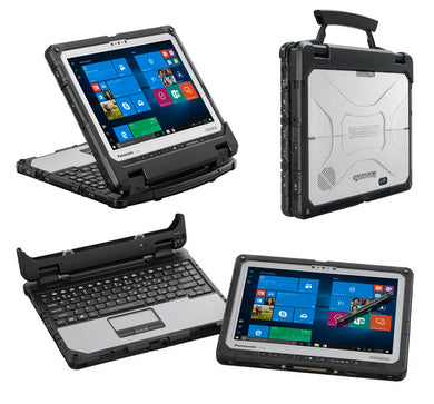 Panasonic ToughBook CF-33 Brand New i5-7300/2.7GHz 8GB RAM 256GB SSD,Win10 Dual CAM (SLIM Keyboard) MSOFFICE 2019