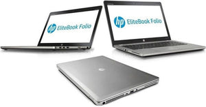 "HP Elitebook Folio 14"" Ultrabook Core i5 2.3GHz 12GB RAM 256gb ssd Win10 Pro"