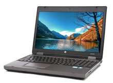 "Load image into Gallery viewer, HP ProBook 15.6""LED Laptop Core i5 3.40Ghz 8GB RAM DVDRW Wifi Webcam Windows 10 Pro MSOfficePro (1 Year Warranty)"