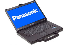"Load image into Gallery viewer, Panasonic Laptop Toughbook CF-52 MK5 (latest) Intel Core i5 -3360M 2.8Ghz 16GB RAM 1TB HDD AMD Radeon HD 7750M 15.4"" WUXGA+ 1920 x 1200p, 4G LTE Modem, Windows 7 or 10 Professional"