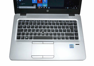 "HP Ultrabook 840 G3 i5-6300u 12GB RAM 14.5"" Backlit 2 drives (256GB SSD + 500GB) 1080P Window10Pro & OfficePro"