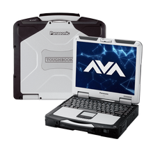 Load image into Gallery viewer, Panasonic toughbook CF-31 MK4 intel Core i5 3.4ghz 8GBRAM 1TB HD 3G Builtin Widows 10 1000Knit SuperLED MSOffice