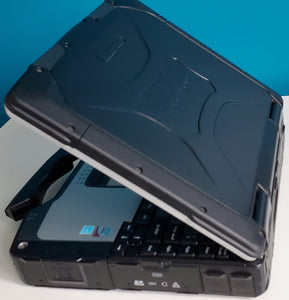 Black Elite Panasonic Toughbook CF30 Touchscreen Fully Rugged 512GB SSD HD Windows 10 Pro OFFICE Wifi DB9 Serial
