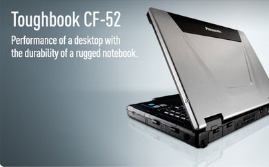 Panasonic Toughbook CF 52 Intel core i5 2.60Ghz 16GB RAM 1TB HardDrive ATIVideo 1920x1200 WUXGA DVDRW Win10 or Win7