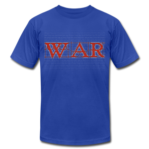 War - royal blue