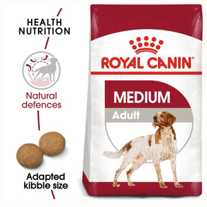 Royal Canin Medium Adult Dry Dog Food - Targa Pet Shop