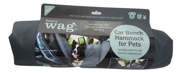 Henry Wag Car Bench Hammock for Pets - Targa Pet Shop