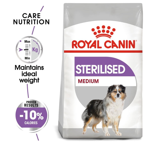 Royal Canin Medium Sterilised Care Dry Dog Food - Targa Pet Shop