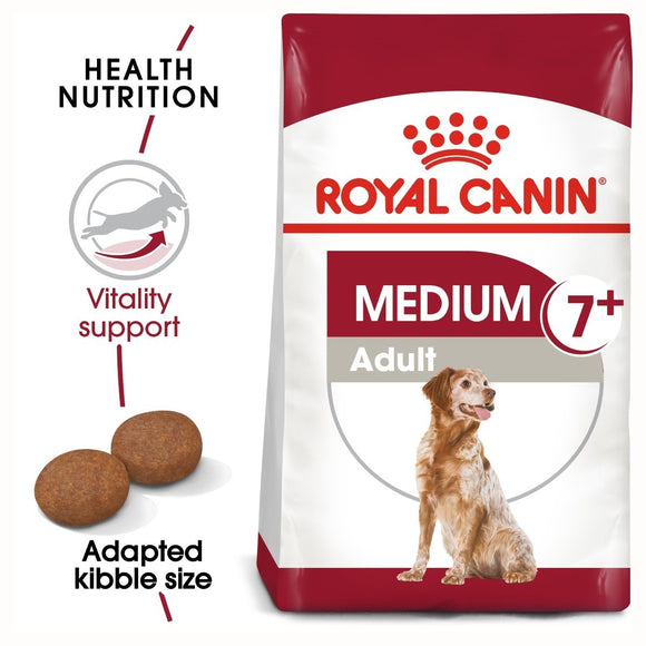 Royal Canin Medium Adult 7+ Dry Dog Food - Targa Pet Shop
