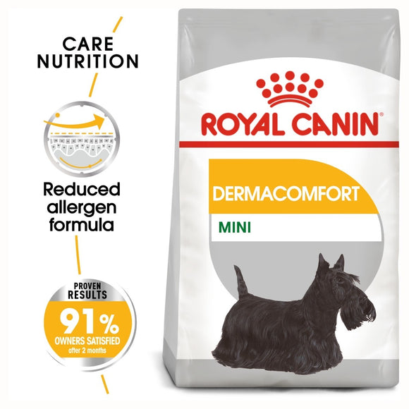 Royal Canin Mini Dermacomfort Dry Dog Food - Targa Pet Shop