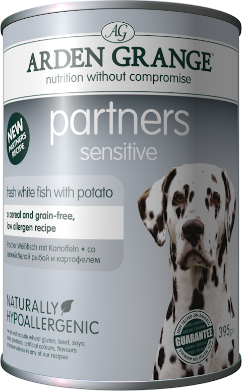 Arden Grange Partners Sensitive – Grain Free – Fresh Ocean White Fish with Potato - Targa Pet Shop