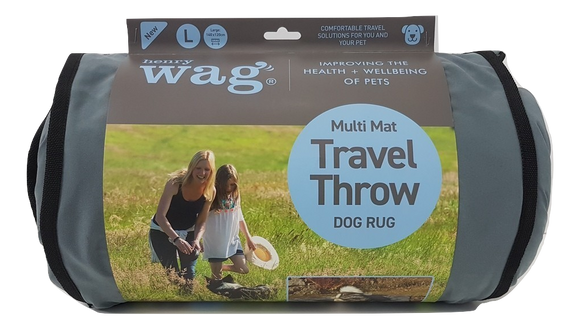 Henry Wag Multimat Travel Throw Dog Rug - Targa Pet Shop