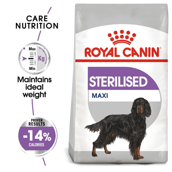 Royal Canin Maxi Sterilised Care Dry Dog Food - Targa Pet Shop