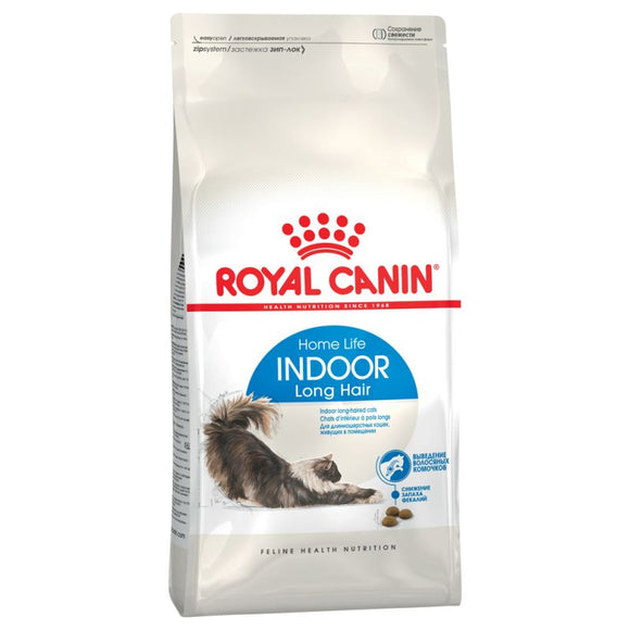Royal Canin Home Life Indoor Long Hair Adult Cat Food - Targa Pet Shop