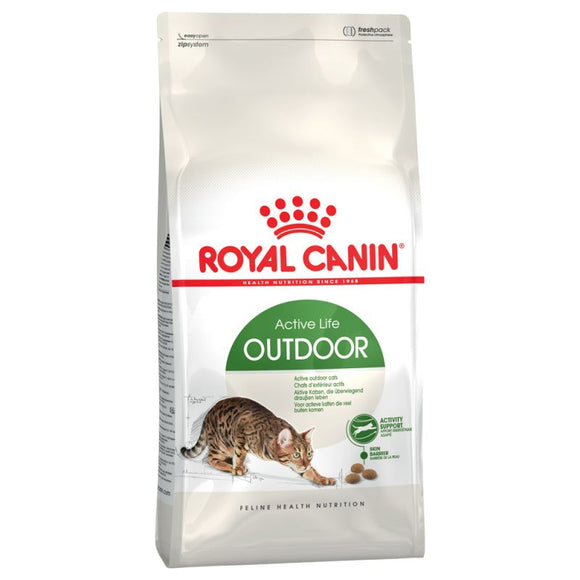 Royal Canin Active Life Outdoor Adult Cat Food - Targa Pet Shop