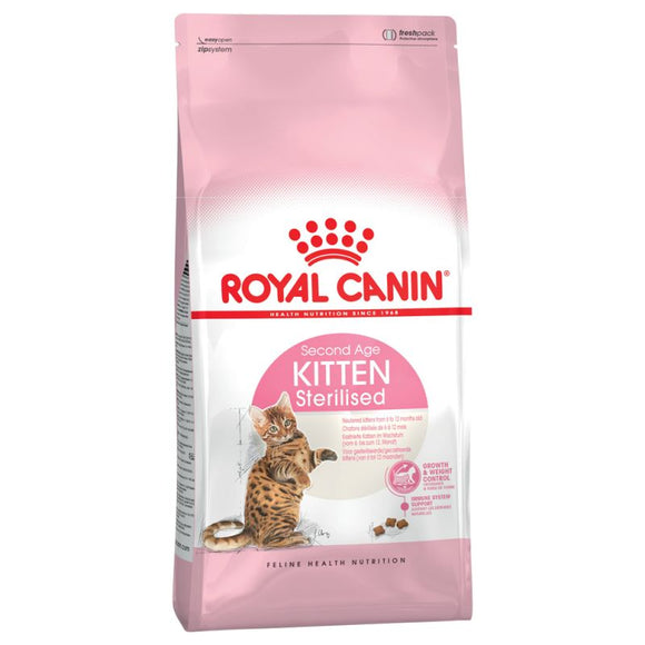 Royal Canin Kitten Sterilised Food - Targa Pet Shop