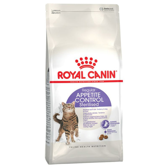 Royal Canin Regular Appetite Control Sterilised Adult Cat Food - Targa Pet Shop
