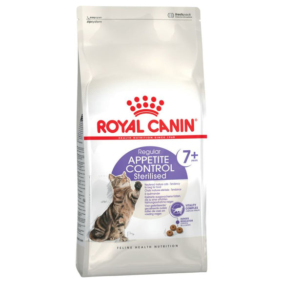 Royal Canin Regular Appetite Control Sterilised 7+ Senior Cat Food - Targa Pet Shop