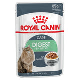 Royal Canin Digest Sensitive Care Pouches in Gravy Adult Cat Food - Targa Pet Shop