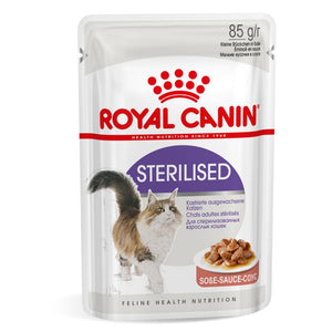 Royal Canin Sterilised Pouches in Gravy Adult Cat Food - Targa Pet Shop