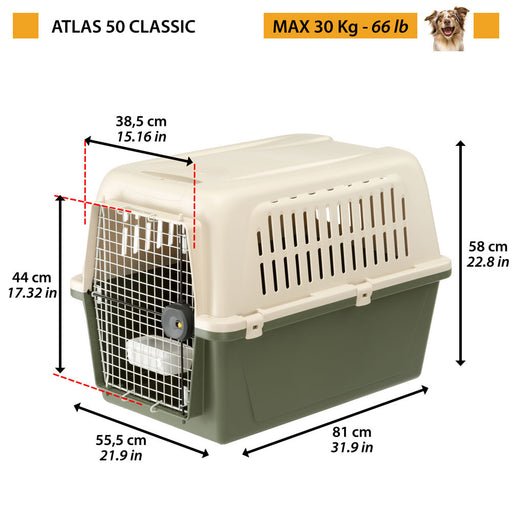 Ferplast Atlas 50 Classic - Targa Pet Shop