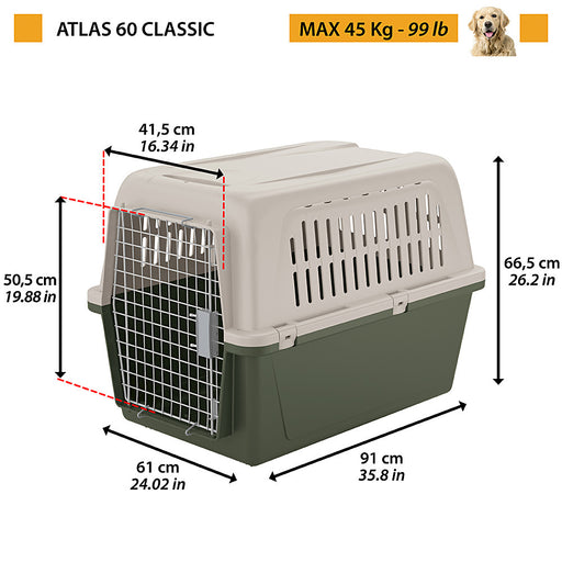Ferplast Atlas 60 Classic - Targa Pet Shop