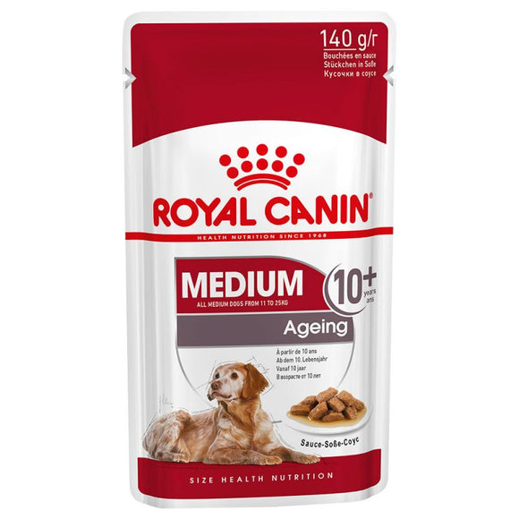 Royal Canin Medium Ageing 10+ Wet Dog Food in Gravy - Targa Pet Shop