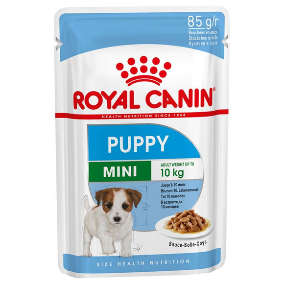 Royal Canin Mini Puppy Wet Dog Food in Gravy - Targa Pet Shop