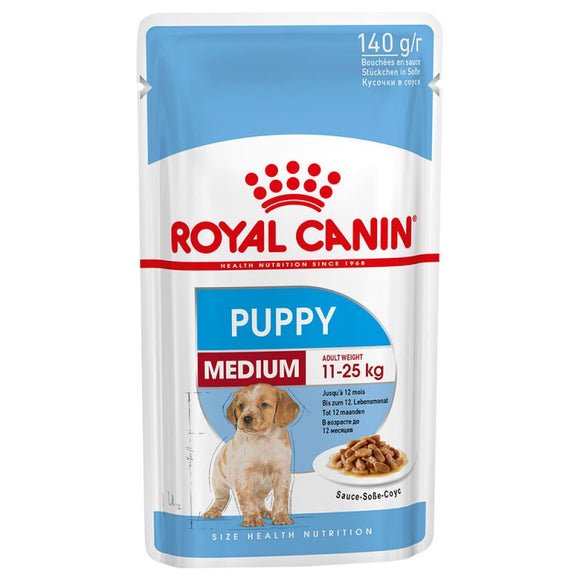 Royal Canin Medium Puppy Wet Dog Food in Gravy - Targa Pet Shop