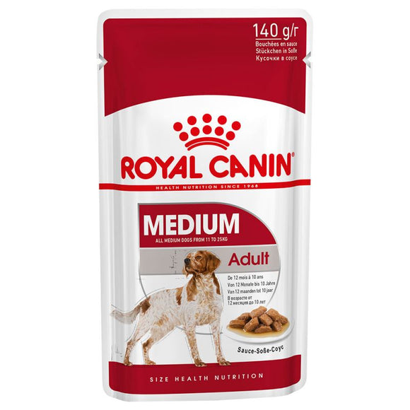 Royal Canin Medium Adult Wet Dog Food in Gravy - Targa Pet Shop