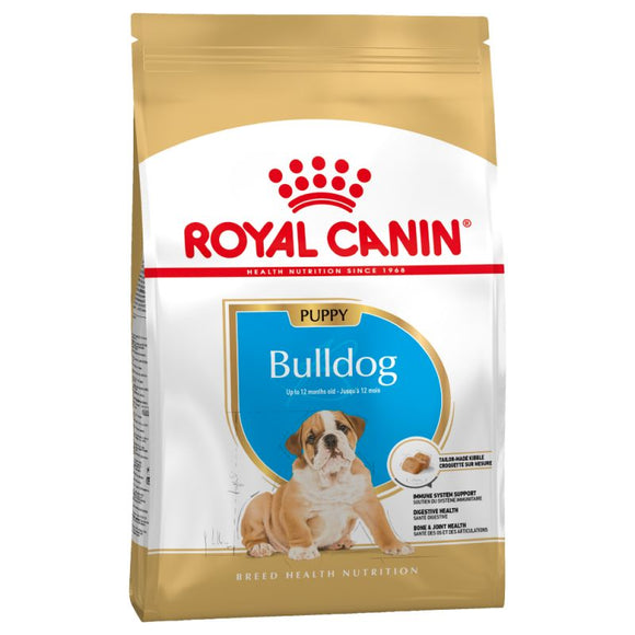 Royal Canin Bulldog Dry Puppy Food - Targa Pet Shop