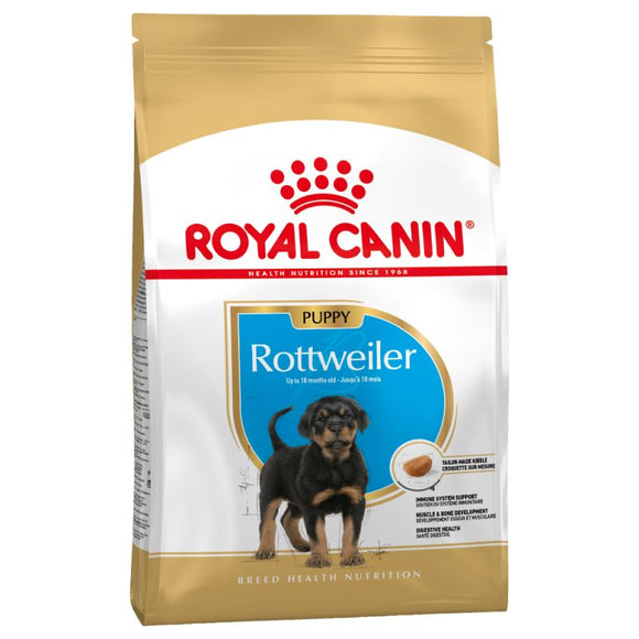 Royal Canin Rottweiler Puppy Dry Food - Targa Pet Shop