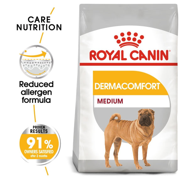Royal Canin Medium Dermacomfort Dry Dog Food - Targa Pet Shop