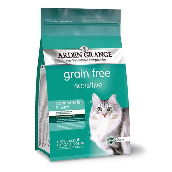 Arden Grange Cat Sensitive - Ocean White Fish and Potato - Targa Pet Shop