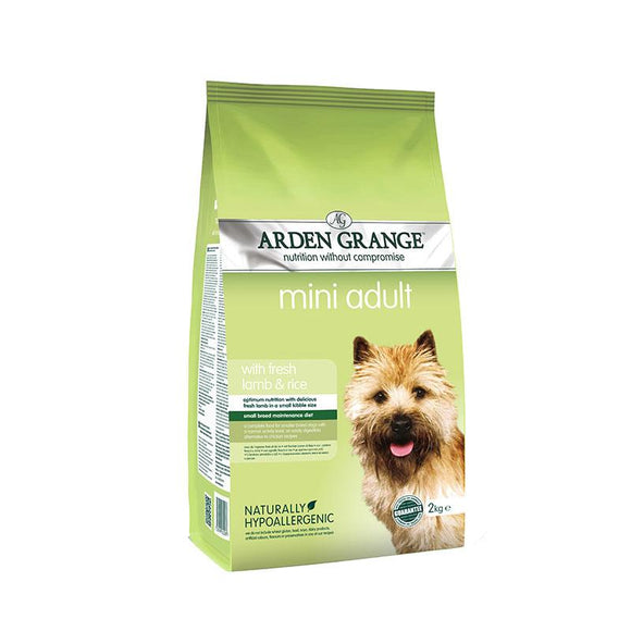 Arden Grange Mini Adult Lamb & Rice - Targa Pet Shop