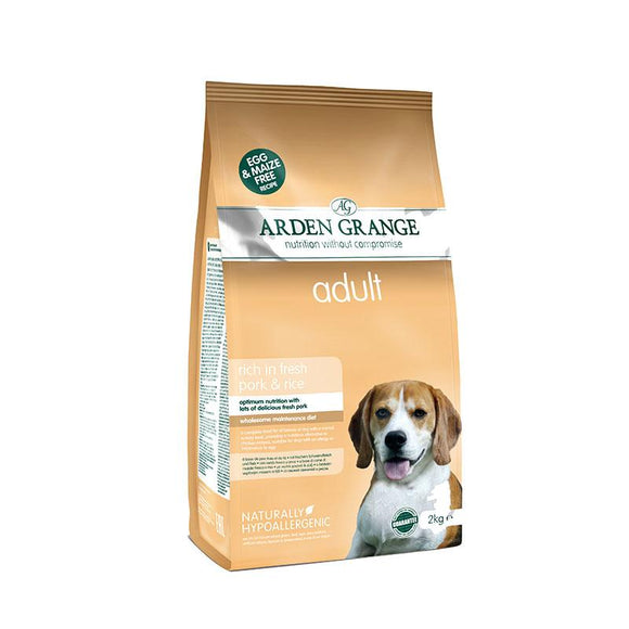 Arden Grange Adult Pork & Rice - Targa Pet Shop