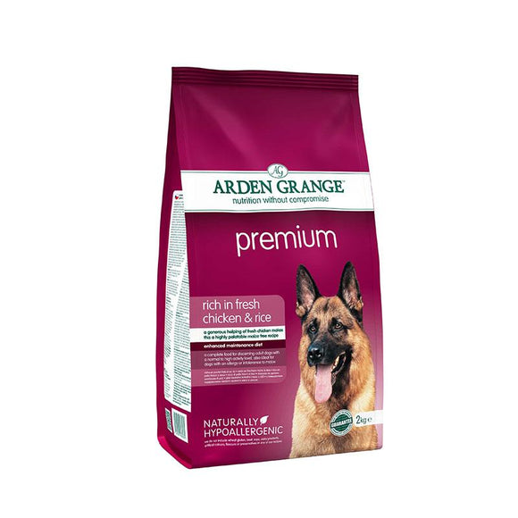 Arden Grange Premium: Rich in Fresh Chicken & Rice - Targa Pet Shop