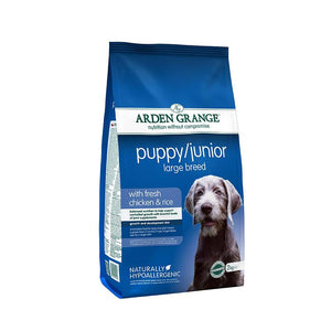 Arden Grange Puppy/Junior Large Breed - with Fresh Chicken & Rice - Targa Pet Shop