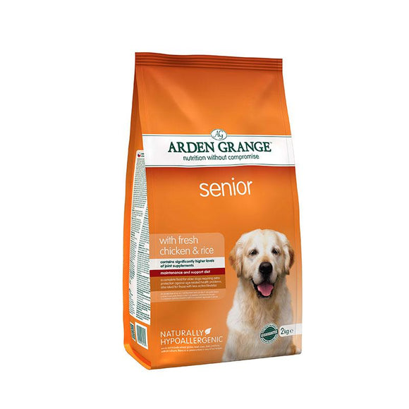 Arden Grange Senior: With Fresh Chicken & Rice - Targa Pet Shop
