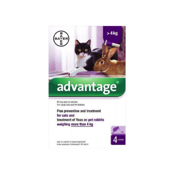 Advantage Cats over 4kgs