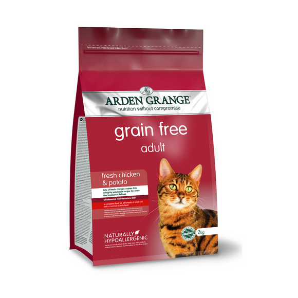 Arden Grange Adult Cat - Grain Free - (With Fresh Chicken & Potato) - Targa Pet Shop