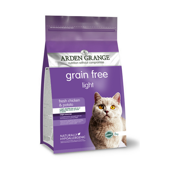 Arden Grange Adult Cat Light - Grain Free - (With Fresh Chicken & Potato) - Targa Pet Shop