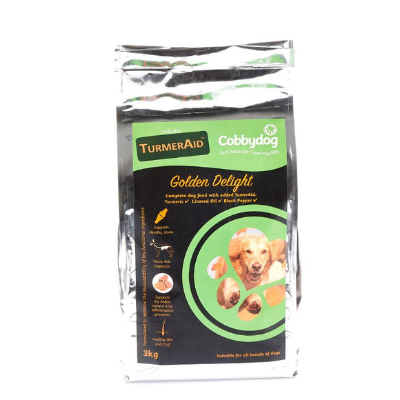 Cobbydog Golden Delight with added Turmeraid - Targa Pet Shop