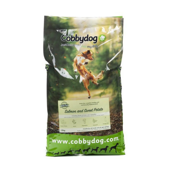 Cobbydog Grain Free Salmon & Sweet Potato - Targa Pet Shop