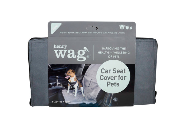 Henry Wag Car Seat Protector - Targa Pet Shop