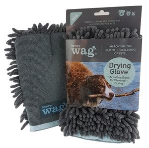 Henry Wag Microfibre Cleaning Glove - Targa Pet Shop