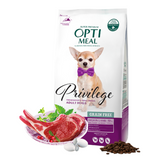 OPTIMEAL Privilege Dry Lamb for small dogs