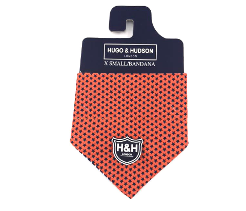 Orange Star Bandanna - Targa Pet Shop